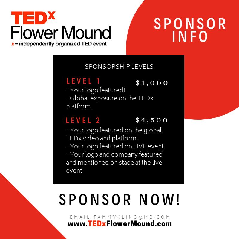 tedx sponsorship